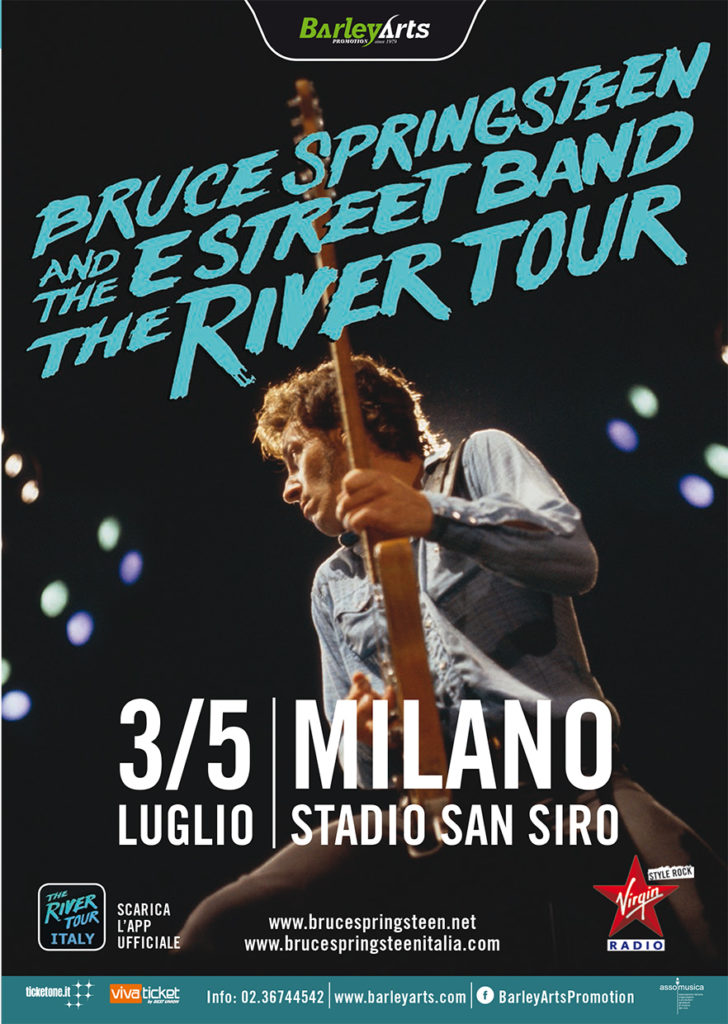 Bruce Springsteen e The E Stree Band - 3/5 Luglio Milano